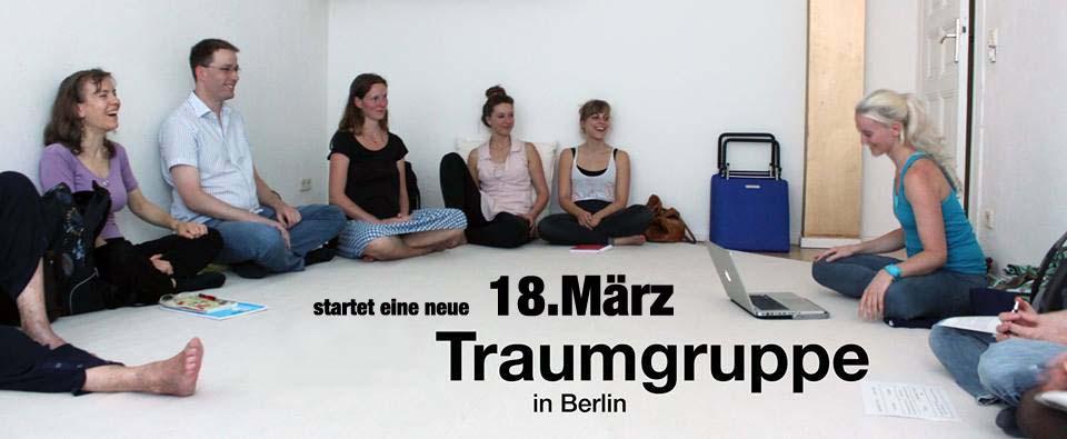 Am 18 März 2018 startet eine neue Traumgruppe im Spirit Berlin