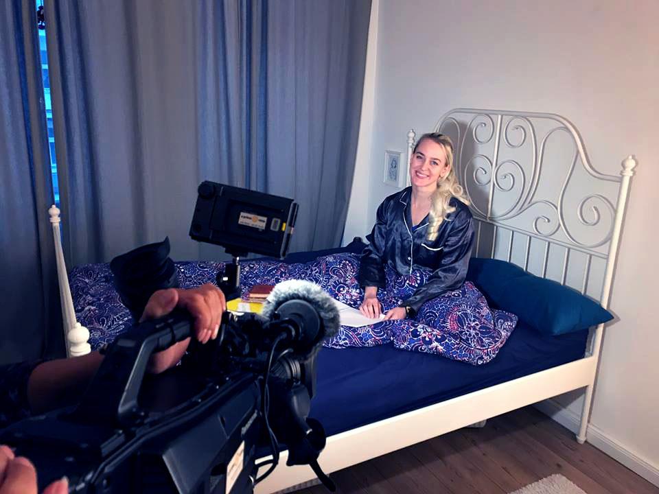 ARD Beitrag Brisant zum Weltschlaftag mit Alice Grinda