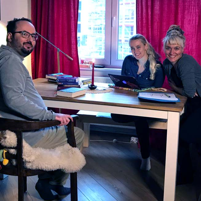 Making - of vom ARD Brisant Beitrag zum Weltschlaftag mit luziden Träumen.